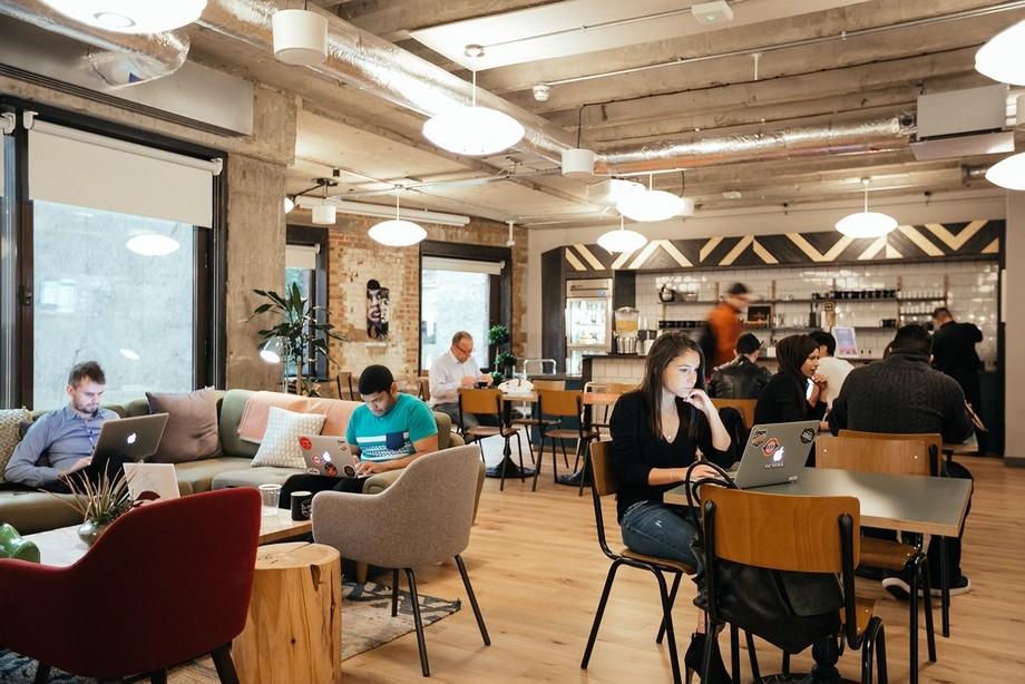 Thiết kế nội thất cowoking space vui nhộn đẹp hoàn hảo