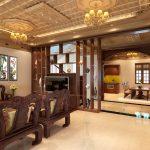 Mẫu trần nhà gỗ xoan đẹp được ưa chuộng nhất hiện nay