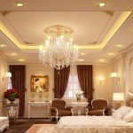 10 mẫu trần thạch cao phòng ngủ tân cổ điển cho cặp đôi trung niên từ 30 – 45 tuổi