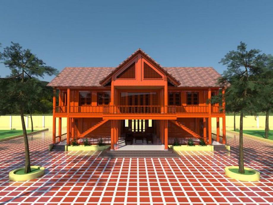 Mẫu nhà gỗ đẹp