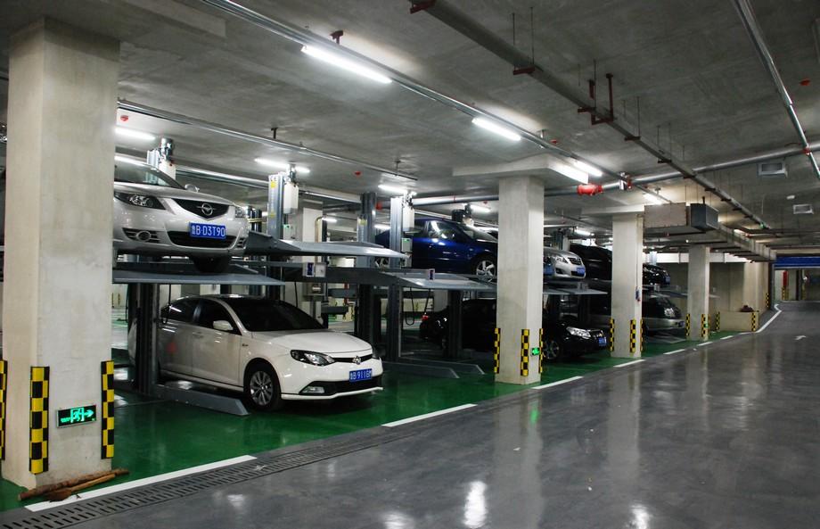 Bãi đỗ xe thông minh trong không gian toà nhà văn phòng làm việc chung