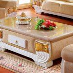 Tổng hợp những mẫu bàn trà tân cổ điển sang trọng và đẳng cấp cho phòng khách