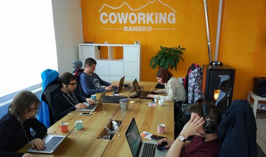 Không gian làm việc chungCoworking Bansko - Bulgaria
