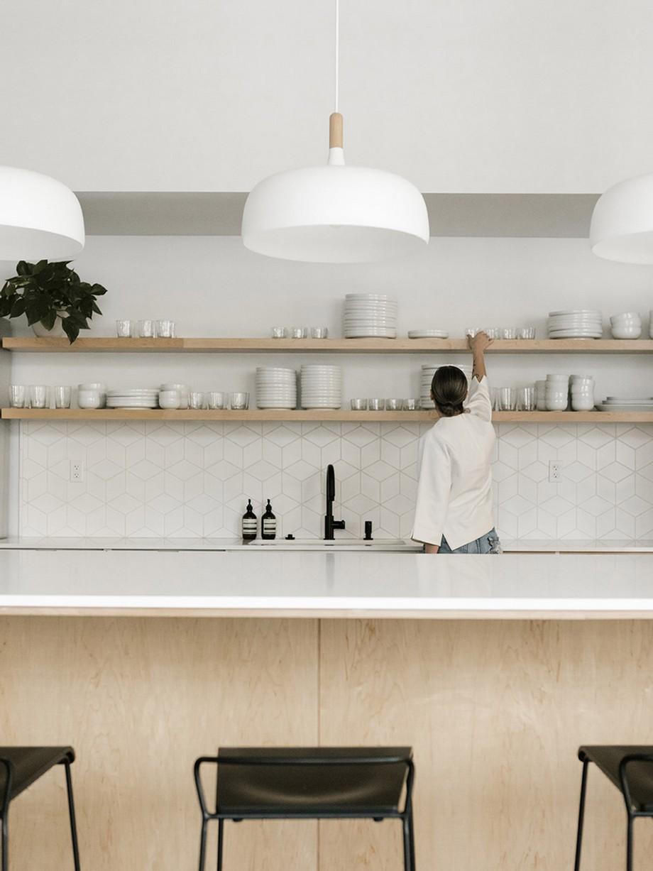 Thiết kế khu vực nhà bếp trong không gian làm việc chung