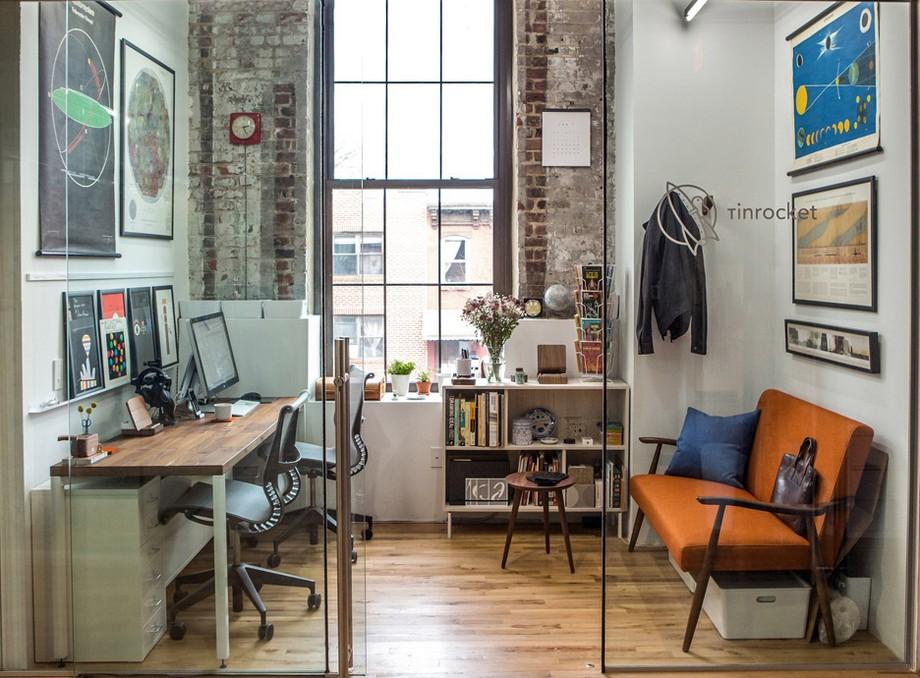 Hình ảnh thiết kế không gian làm việc chung coworking space ấn tượng