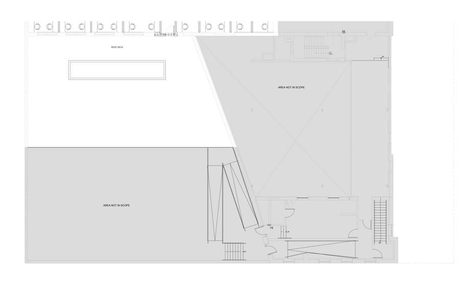 Bản vẽ thiết kế không gian làm việc chung màu sắc