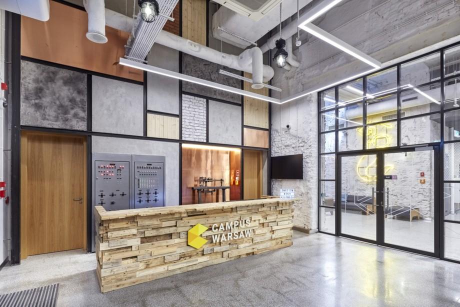 Thiết kế không gian làm việc chung tại Ba Lan