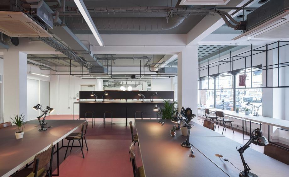 hình ảnh đẹp tuyệt sắc của những không gian làm việc chung đẹp nhất thế giới