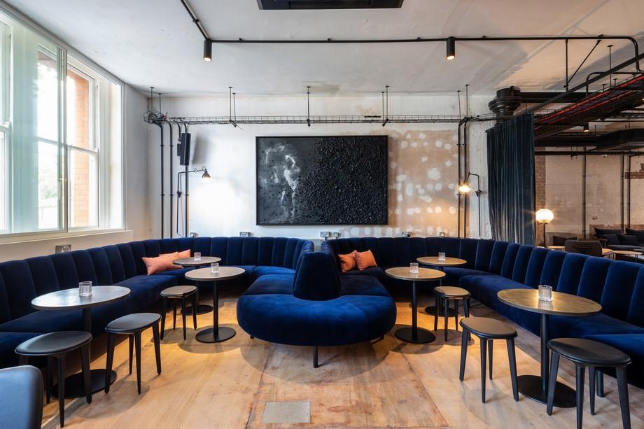 Thiết kế không gian phòng khách trong co-working space