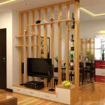 Chiêm ngưỡng những mẫu kệ tivi kết hợp vách ngăn đẹp nhất cho phòng khách