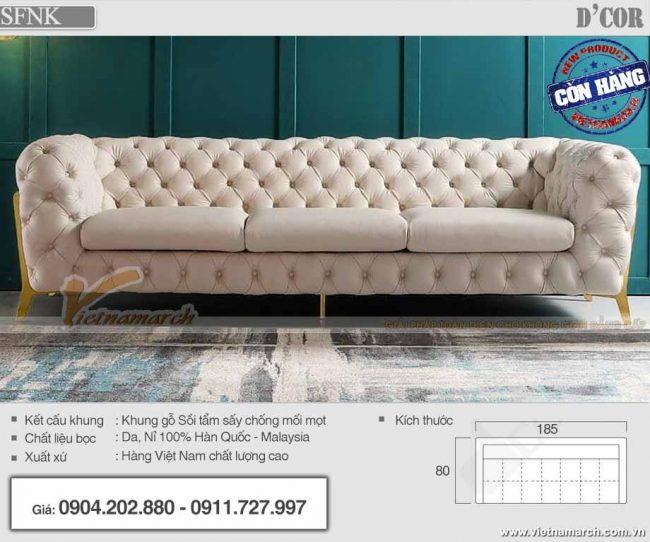Sofa Châu Âu hiện đại