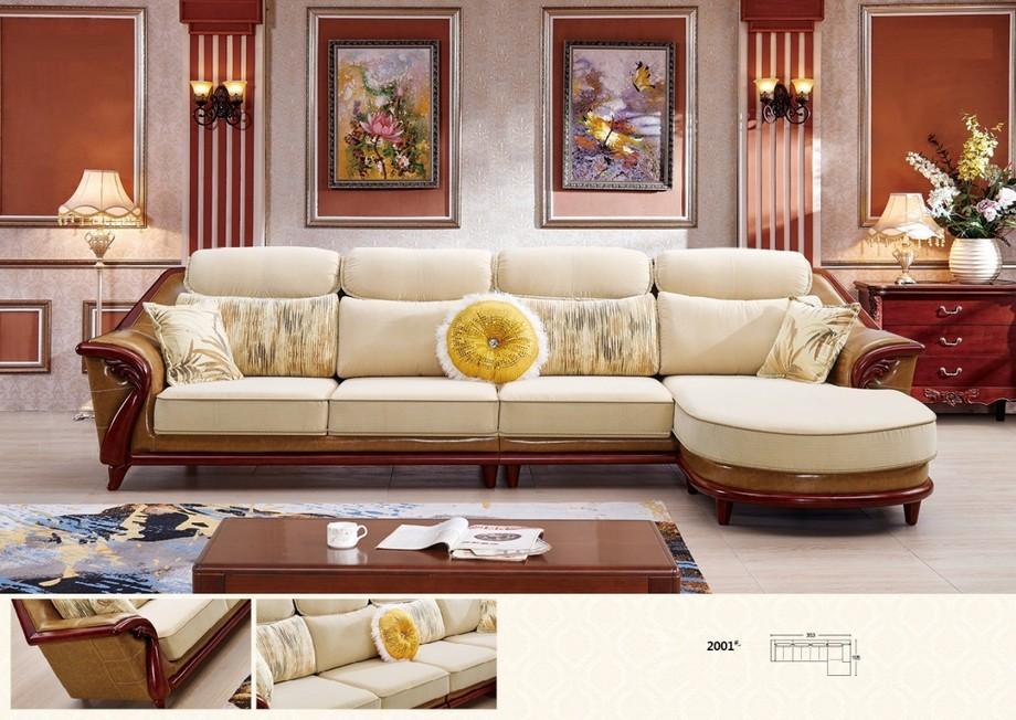 Sofa tân cổ nhập khẩu vừa mang nét cổ điển phương Tây vừa hiện đại