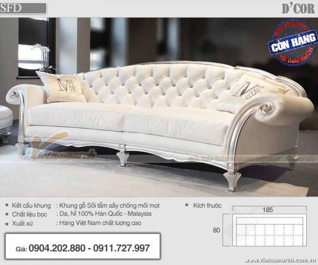 Mẫu sofa tân cổ điển đẹp