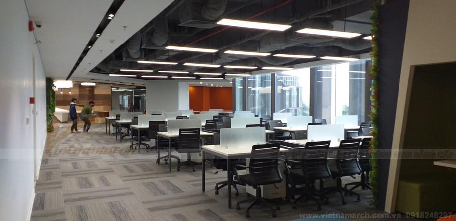 Khu vực làm việc của không gian làm việc chung