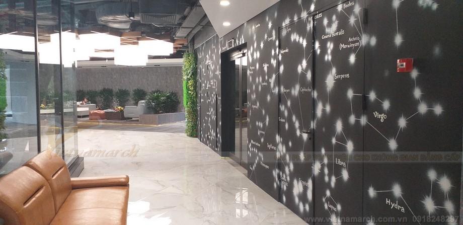 Thiết kế khu vực hành lang trong không gian làm việc chung