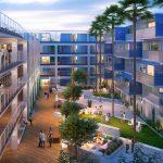 Tái sinh một bãi đỗ xe thông minh bỏ trống trở thành một khu chung cư nhiều tầng sang trọng