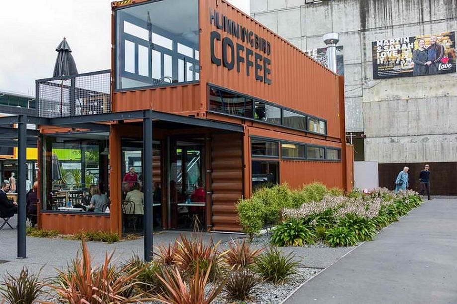 Thiết kế nhà hàng container đang trở thành một xu hướng trong thiết kế nhà hàng hiện đại