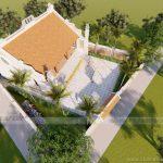 Thiết kế nhà thờ họ- từ đường nhà anh Công ở  Vĩnh Phúc