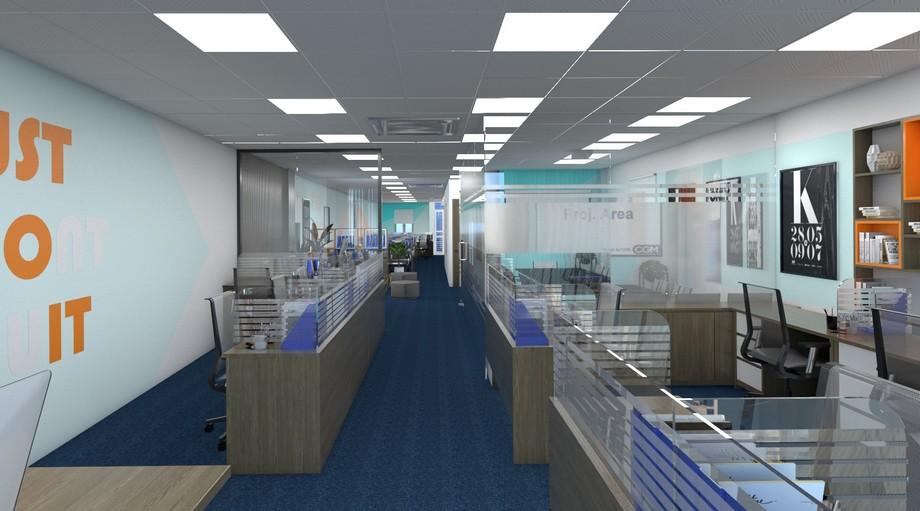 Không gian ấn tượng của văn phòng ảo Hà Đông