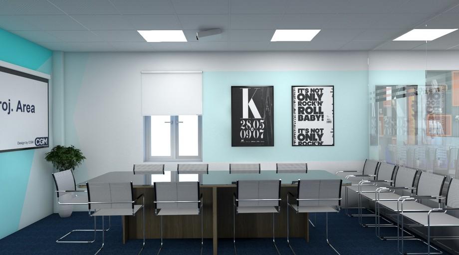 Phòng họp của văn phòng ảo Hà Đông