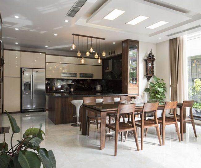 Mẫu thiết kế nội thất đẹp ở biệt thự Vinhomes Ocean Park Gia Lâm