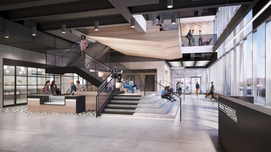 Không gian bên trong ấn tượng của Coworking Space BrooklynDock 72 Navy Yard