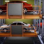 Bãi đỗ xe thông minh được bố trí tại 3 tầng nổi Dự án Premier Sky Residences