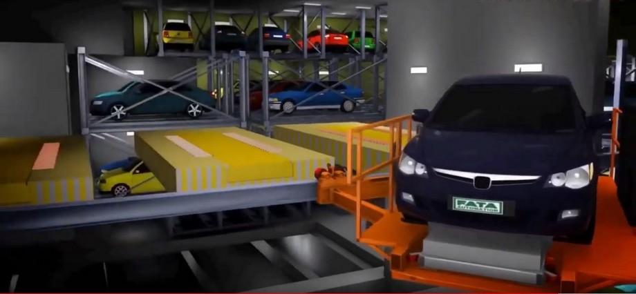 Khi lấy xe, hệ thống cũng thực hiện các bước lấy xe như vậy