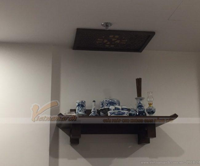 Bán bàn thờ treo tường cho nhà chị Trang- chung cư Vinhomes Green Bay Mễ Trì