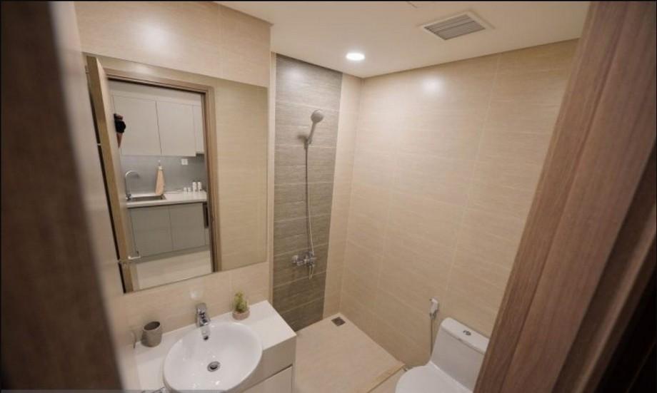 Phòng vệ sinh của căn hộ mẫu Vincity Gia Lâm