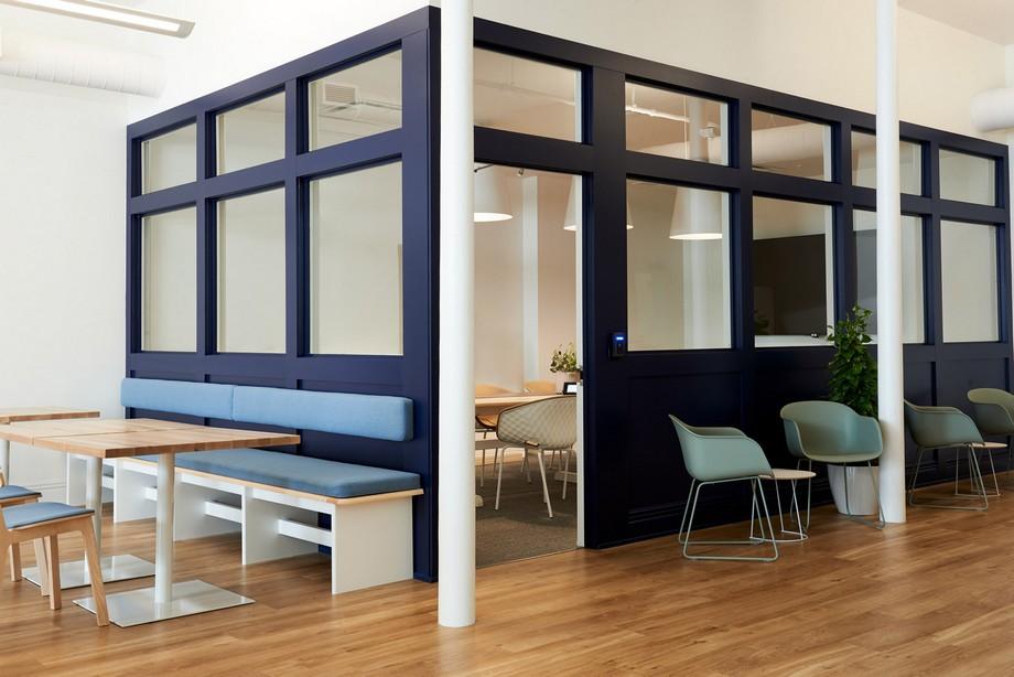 Thiết kế không gian làm việc chung coworking space đẹp và ấn tượng với quán caffe
