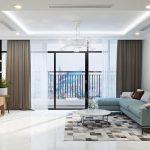 Mặt bằng căn hộ chung cư 3 phòng ngủ nội thất Vinhomes Ocean Park Gia Lâm