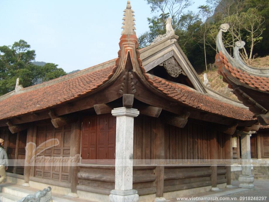 Thiết kế chùa Việt mang đậm nét kiến trúc truyền thống Việt Nam