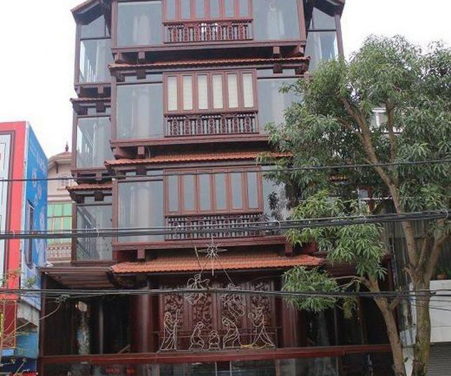 Nhà gỗ đẹp ở Hà Tĩnh