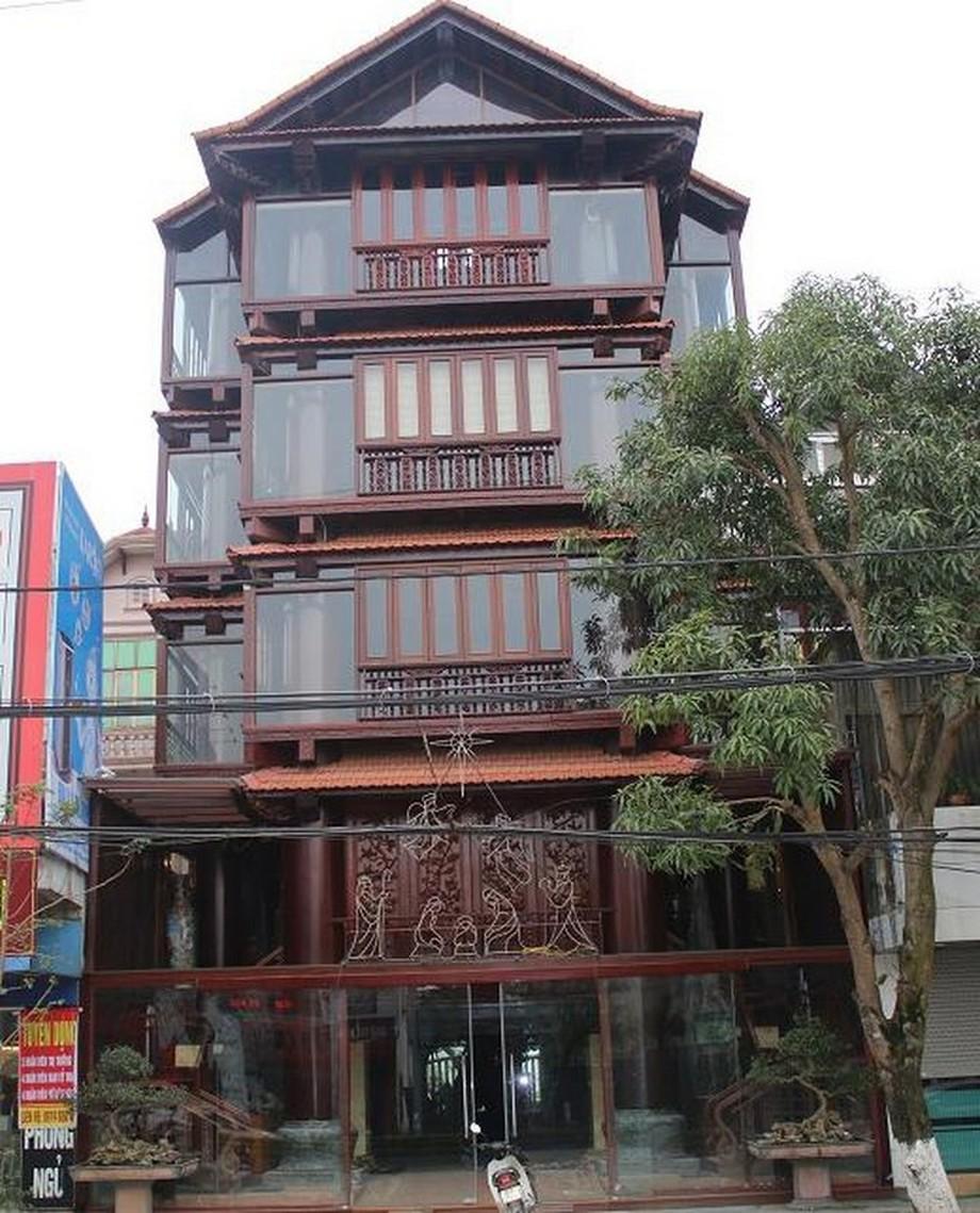 Toàn cảnh nhà gỗ đẹp ở Hà Tĩnh