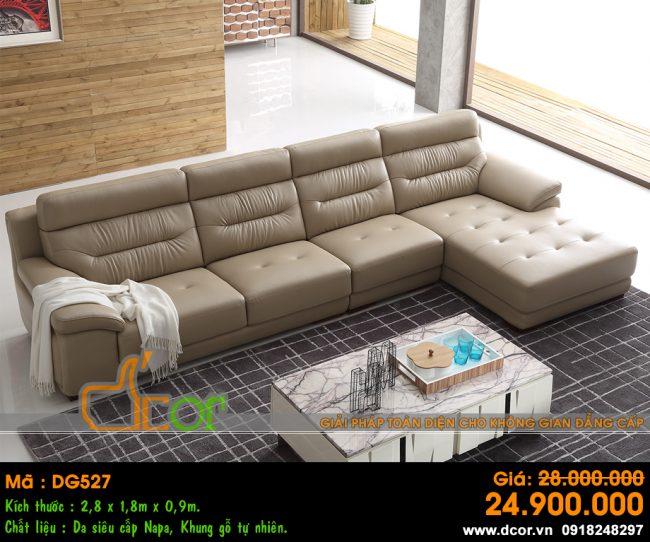 Sofa phòng khách cho biệt thự Vinhomes Ocean Park