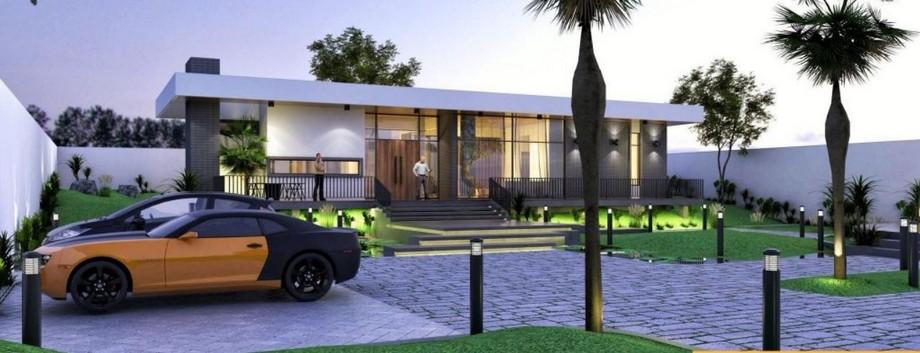 Thiết kế biệt thự vườn 4 phòng ngủ phong cách hiện đại, trẻ trung