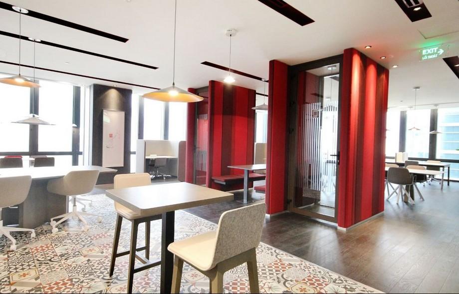 Không gian làm việc đa dạng của văn phòng ảo RegusDeutsches Haus