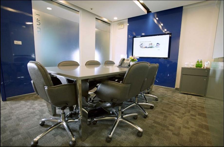 Thiết kế đẹp trong phòng họp của văn phòng ảo RegusDaehabusiness center