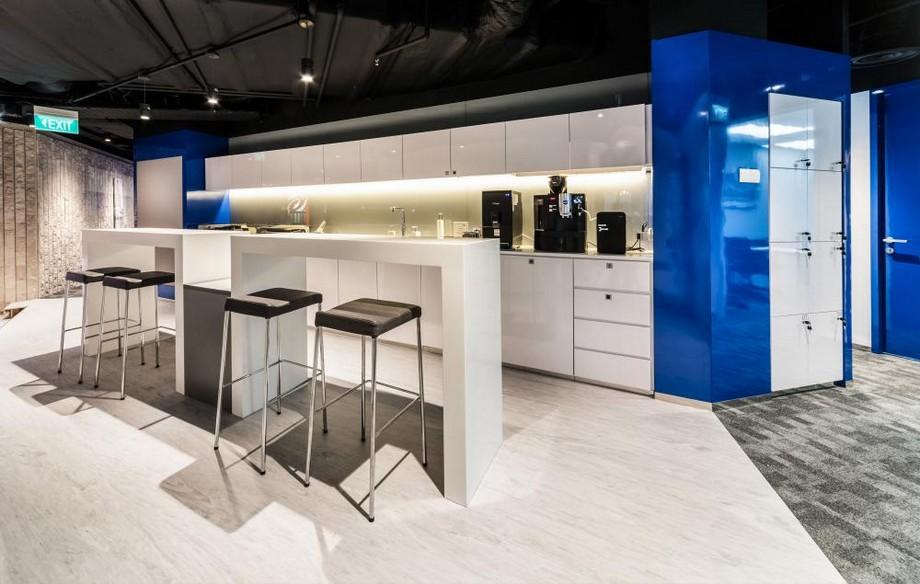 Thiết kế khu vực pantry đẹp của văn phòng ảo RegusDaehabusiness center