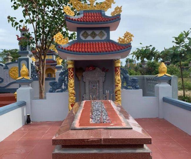 Thiết kế lăng mộ ở Đông Hà Quảng Trị đẹp và sang trọng