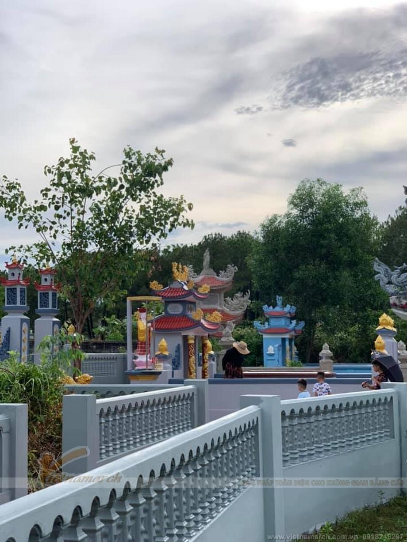 Thiết kế lăng mộ đẹp họ Nguyễn ở Đồng Hà Quảng Trị