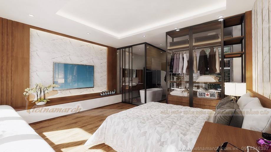 thiết kế tầng 5-Phòng ngủ cha mẹ