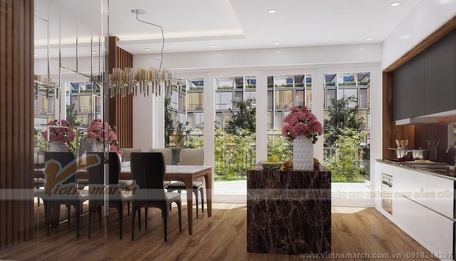 Thiết kế tầng 6 phòng ăn