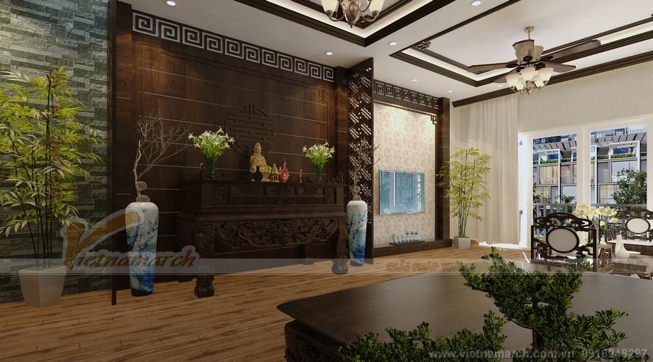 Thiết kế tầng 2 - Khu vực tiếp khách của gia chủ