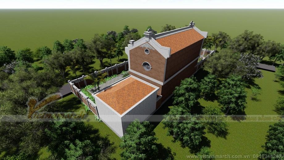 Thiết kế hình ảnh nhà thờ họ Hưng Yên
