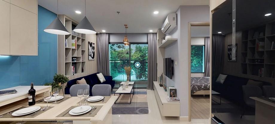 Không gian nội thất căn 1 phòng ngủ chung cư Vinhomes Ocean Park Gia Lâm