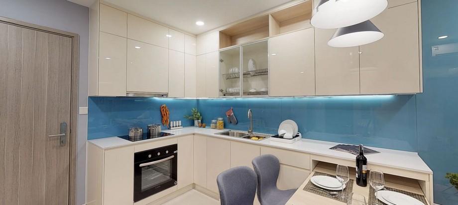 Tủ bếp căn hộ