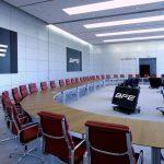 Thiết kế  phòng họp hiện đại trong không gian làm việc chung cowoking space
