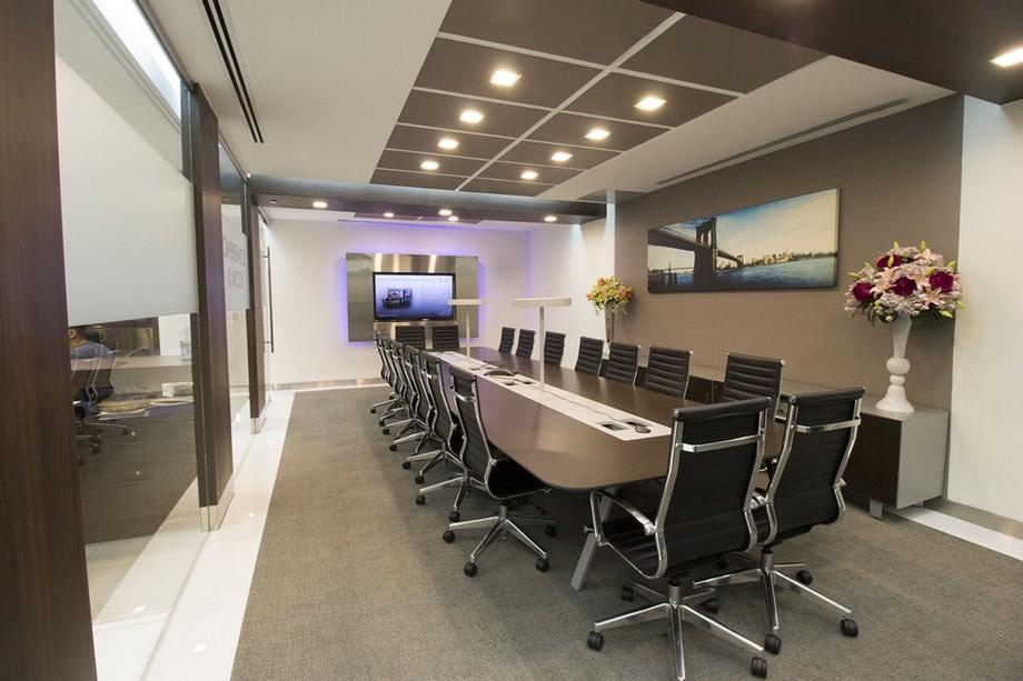 Thiết kế phòng họp trong không gian làm việc chung cowoking space
